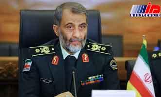 فرمانده مرزبانی ایران وارد کابل شد