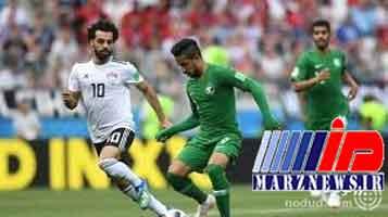 برد بی فایده و تشریفاتی عربستان مقابل مصر