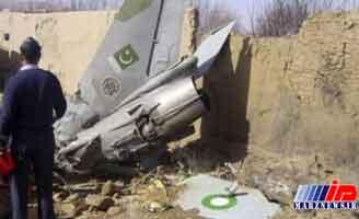 سقوط جنگنده در پیشاور پاکستان دو کشته برجا گذاشت