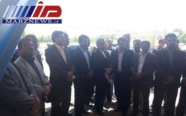 بازدید وزیر نیرو از تصفیهخانه فاضلاب شهرستان نیر