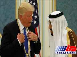 رفتار ترامپ نشانه غلامی ال سعود