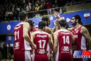 تیم ملی بسکتبال ایران از سد قزاقستان گذشت
