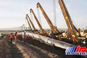 تحویل گاز تجاری جمهوری آذربایجان به ترکیه آغاز شد