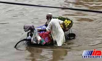 بارش های شدید موسمی لاهور پاکستان را به زیر آب برد