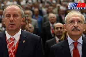 تنش در کادر رهبری حزب جمهوری خواه خلق ترکیه بالا گرفت