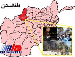 تنش برای بازداشت یک فرمانده نظامی در افغانستان بالا گرفت