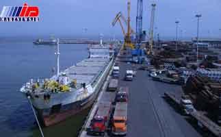 صادرات از بندر امیرآباد 35 درصد افزایش یافت