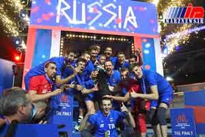 روسیه فاتح لیگ ملت های والیبال شد