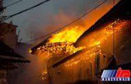 اطفای کامل حریق مسجد جامع ساری/مصدومیت 18 نفر در این حادثه
