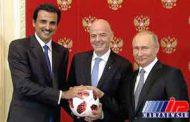 روسیه جام جهانی را به قطر تحویل داد