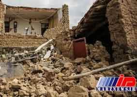 زلزله به واحدهای مسکونی 2 روستای جاجرم خسارت وارد کرد