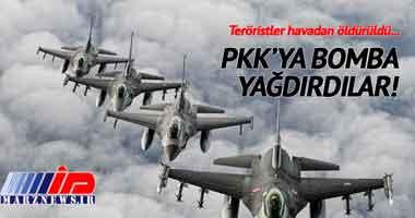 9 عضو پ.ک.ک در ترکیه و شمال عراق کشته شدند