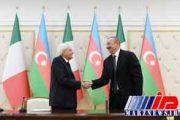 سران رم و باکو درباره طرح انتقال گاز به اروپا مذاکره کردند