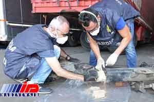 50 کیلوهروئین از یک کامیون ایرانی در ایتالیا کشف شد