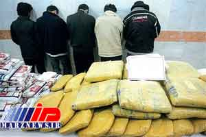 2424 کیلوگرم مواد مخدر در سیستان و بلوچستان کشف شد