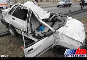 حادثه رانندگی در قصرشیرین چهار کشته برجا گذاشت