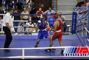 کردستان قهرمان مسابقات بوکس جوانان منطقه 6 کشور شد