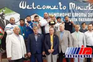 آذربایجان قهرمان ورزش زورخانه ای و کشتی پهلوانی اروپا شد