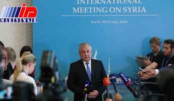 نماینده پوتین مذاکرات سوچی را سازنده خواند