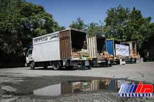۸ کامیون حامل قاچاق در دشتستان توقیف شد