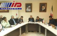 تشکیل جلسه کمیته زیرساخت ستاد اربعین در مرز خسروی