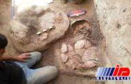 آثار عصر آهن در قلعه سردار بوکان کشف شد
