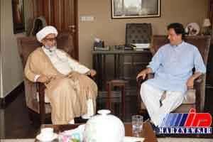 میل عمران خان به ائتلاف با شیعیان پاکستان