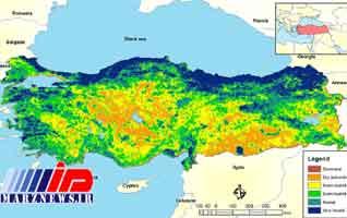 گسترش روز افزون خطر خشکسالی در ترکیه