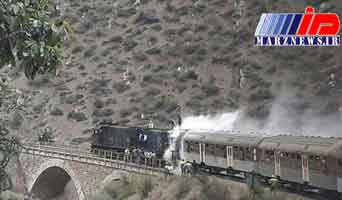 مدیرکل راه آهن شمال آتش سوزی قطار را تکذیب کرد