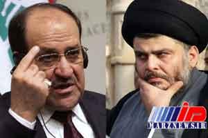صدر و المالکی دو قطب تعیین کننده ائتلاف بزرگ پارلمان عراق