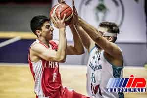 قزاقستان مغلوب بسکتبال جوانان ایران شد