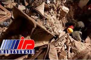 چهار کارگر زیر آوار مدفون شدند