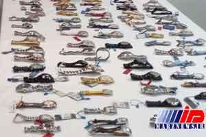 5400 ساعت مچی قاچاق در فرودگاه مهرآباد کشف شد