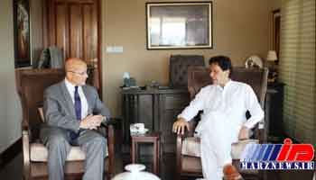 اذعان عمران خان به وجود بی اعتمادی بین پاکستان و آمریکا