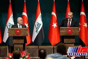 اردوغان و العبادی بر مبارزه با داعش و پ.ک.ک تاکید کردند