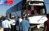 انحراف اتوبوس در نیشابور 18 مصدوم برجای گذاشت