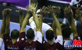 تیم هندبال ایران برابر قطر شکست خورد