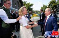 جزییاتی از حضور پوتین در عروسی وزیر خارجه اتریش (+عکس)