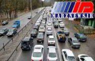 آغاز محدودیت ترافیکی در محورهای مازندران
