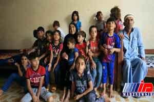 مادر شهیدی که 22 فرزند شهید را سرپرستی می کند