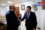 دیدار سفیر آذربایجان با رئیس مرکز اطلاع رسانی و امور بین الملل وزارت کشور