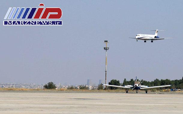 نخستین هواپیمای مسافری در فرودگاه بین المللی پیام به زمین نشست