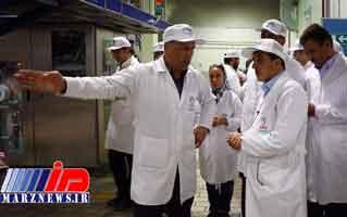 پگاه آذربایجان غربی محصولات بیشتری صادر میکند