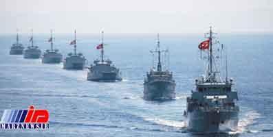 آماده باش کشتیهای جنگی ترکیه در شرق مدیترانه