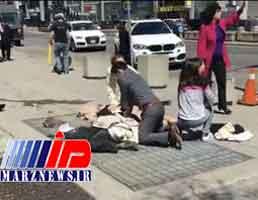 ۱۰ کشته و زخمی درحادثه زیرگرفتن عابران در مسکو