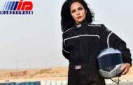 راننده زن سعودی در مسابقات رانندگی