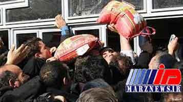 هجوم عراقیها به مریوان برای خرید کالاهای اساسی