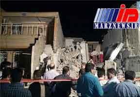 انفجار گاز در پردیس دو اهواز