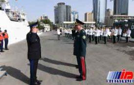 تمرینات مشترک جمهوری آذربایجان و روسیه در خزر برگزار شد
