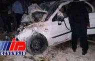 5 کشته و 4 زخمی در تصادف پژو پارس با سمند در اردبیل